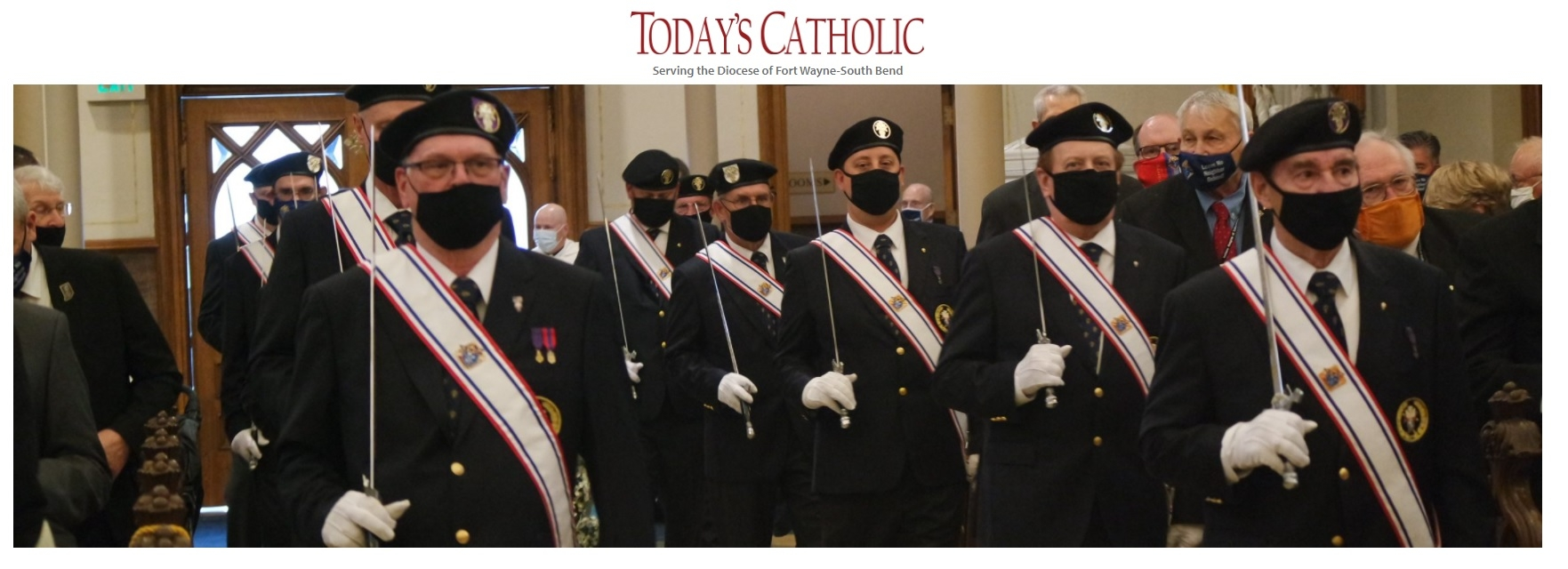 TODAY'S CATHOLIC  reporter Nick Hankoff article on the 120th Annual Meeting of the Indiana State Council of the Knights of